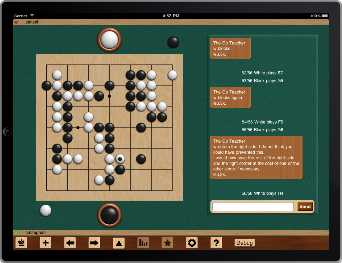The IPad Version of Boardz